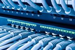 Network Hub Uplink Stock Photo