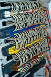 Network Hub Uplink Stock Photo
