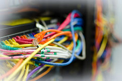Network Hub Uplink Stock Images