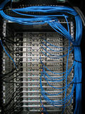 Network Hub Uplink Royalty Free Stock Photo