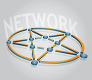 Network icon Royalty Free Stock Photo