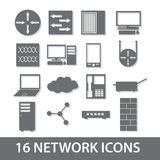 Network icon collection eps10. Network vector icon collection eps10 Vector Illustration