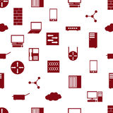 Network icon pattern eps10. Network icon seamless pattern eps10 Stock Illustration