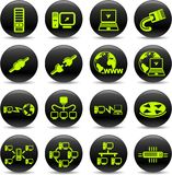 Network icons Stock Image