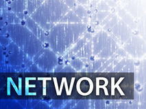 Network illustration Royalty Free Stock Photography