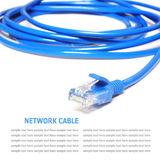 Network internet cable  on white background Royalty Free Stock Images