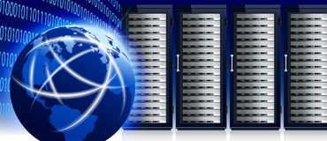 Network and Internet Global World with Communication Technology, Stock Photos