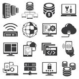 Network and internet icons Royalty Free Stock Photo