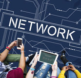 Network Internet Online Technology Future Concept Stock Images