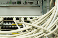 Network Lan Hub Stock Image