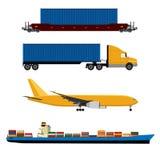 Network logistics Royalty Free Stock Photo