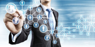 Network marketing Stock Photo