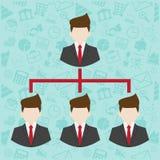 Network Marketing symbol Stock Photography