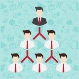 Network Marketing symbol Stock Images