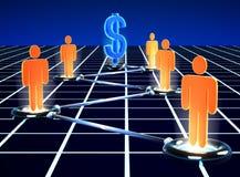 Network Marking Stock Photo