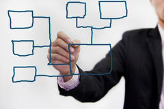 Network model. Stock Images