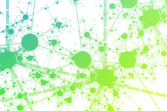 Network Paint Splatter Royalty Free Stock Photo