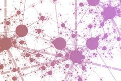 Network Paint Splatter Stock Images