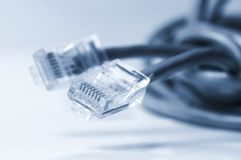Network  and patch cables Royalty Free Stock Photos