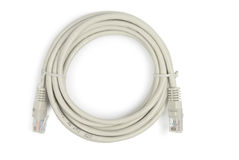Network Patch Cord Royalty Free Stock Photo