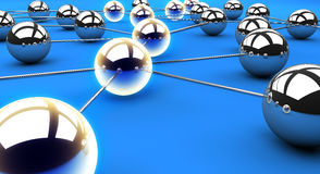 Network path Royalty Free Stock Photo