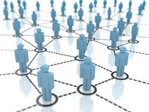 Network People Stock Image