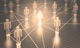 Network People Royalty Free Stock Image
