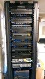 Network rack Stock Photos