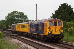 Network Rail test train Stock Images