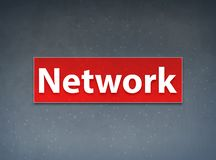 Network Red Banner Abstract Background. Network Isolated on Red Banner Abstract Background illustration Design vector illustration