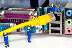 Network Repair Stock Images