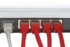 Network router Royalty Free Stock Image