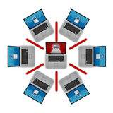 Network Security Royalty Free Stock Image