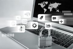 Network Security Royalty Free Stock Images