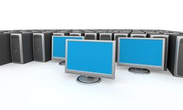 Network Server stock illustration