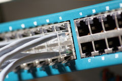 Network server Stock Images