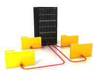 Network server Stock Photography
