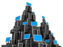 Network Server royalty free illustration