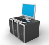 Network Server Royalty Free Stock Image