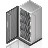 Network Server Rack Royalty Free Stock Photos
