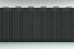 Network server raw Stock Photography