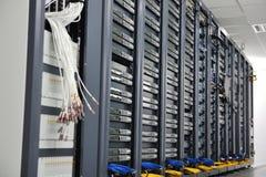 Network server room Stock Photos