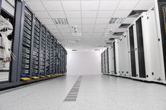 Network server room Stock Photography