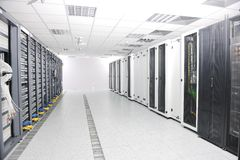 Network server room Royalty Free Stock Photography