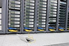 Network server room Stock Image