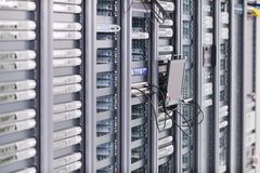 Network server room Royalty Free Stock Images