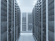 Network server room Stock Images