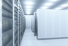 Network server room Royalty Free Stock Photos