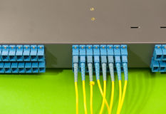 Network server room routers Stock Images