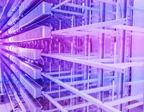 Network server room Stock Photo